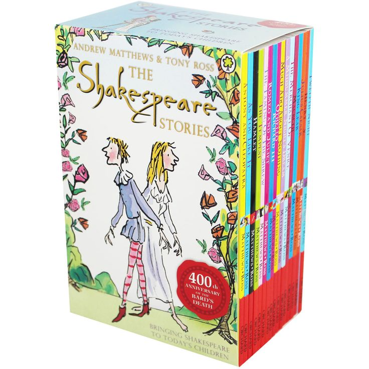 Buy The Shakespeare Stories - 16 Books by Andrew Matthews and Tony Ross online from The Works. Visit now to browse our huge range of products at great prices.