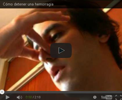 TU SALUD Y BIENESTAR : Cómo detener un sangrado de la nariz