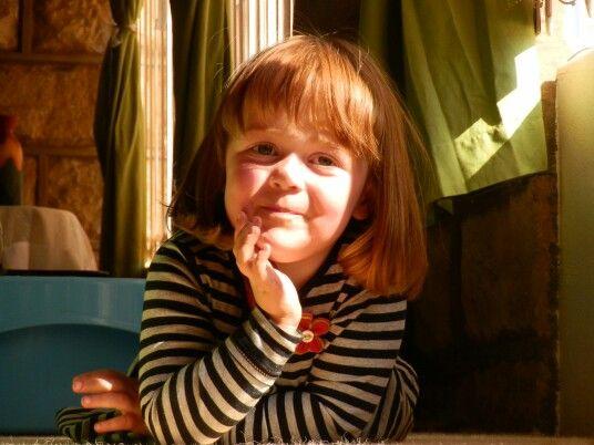 #littlegirl #friendly #smile