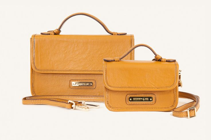 The Victoria Messenger Matching Handbag Pair by MOMMY&ME
