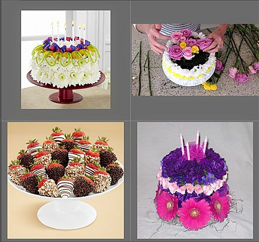 cake flowers from icing