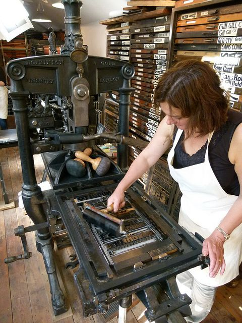 the Letterpress is a work of art....I have found memories working on one back in St.Kits. LoVe iT! Wish list: gotta get it!