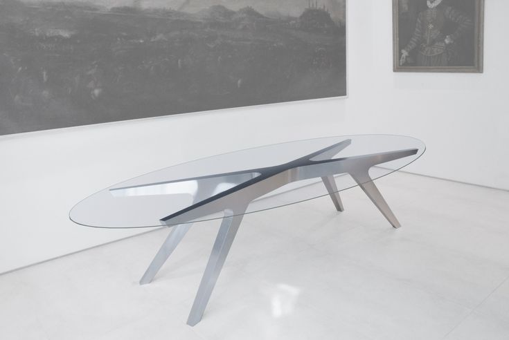 www.gdesign.eu Giacomo Longoni and Fruzsina Kaiser architects X Table O laser cut aluminium and glass table by Gdesign