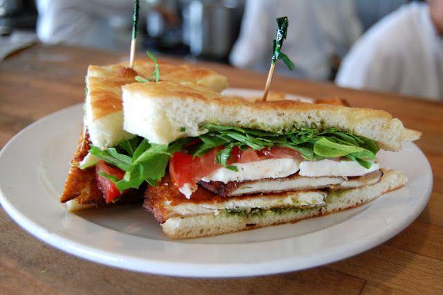 Foccatia lunch sandwich
