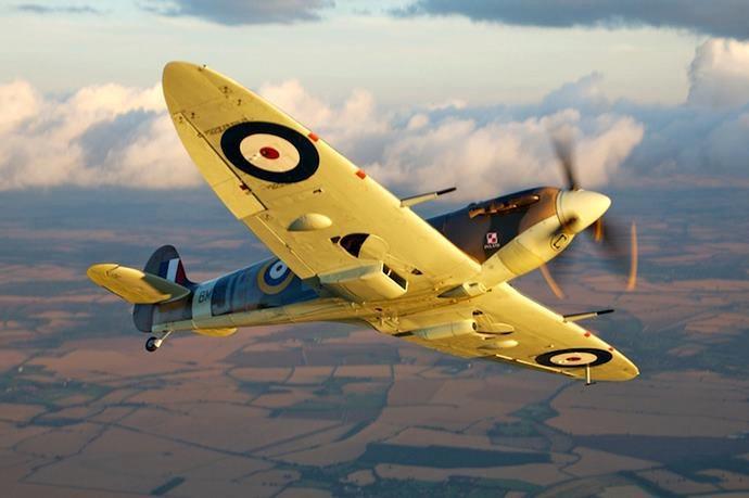 Battle Of Britain Portraits... Spitfire (Photo by Stuart Adams)