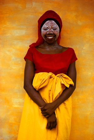 Africa |  Smiling woman, Mozambique,  from his African Journey 1970 collection of photos | © Pete Turner