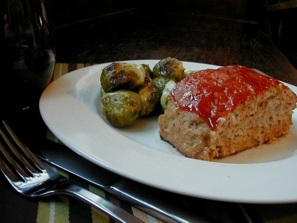 This is an Ina Garten recipe from the Barefoot Contessa Cookbook. My husband is fussy about his meatloaf, but really likes the texture and flavor of this.