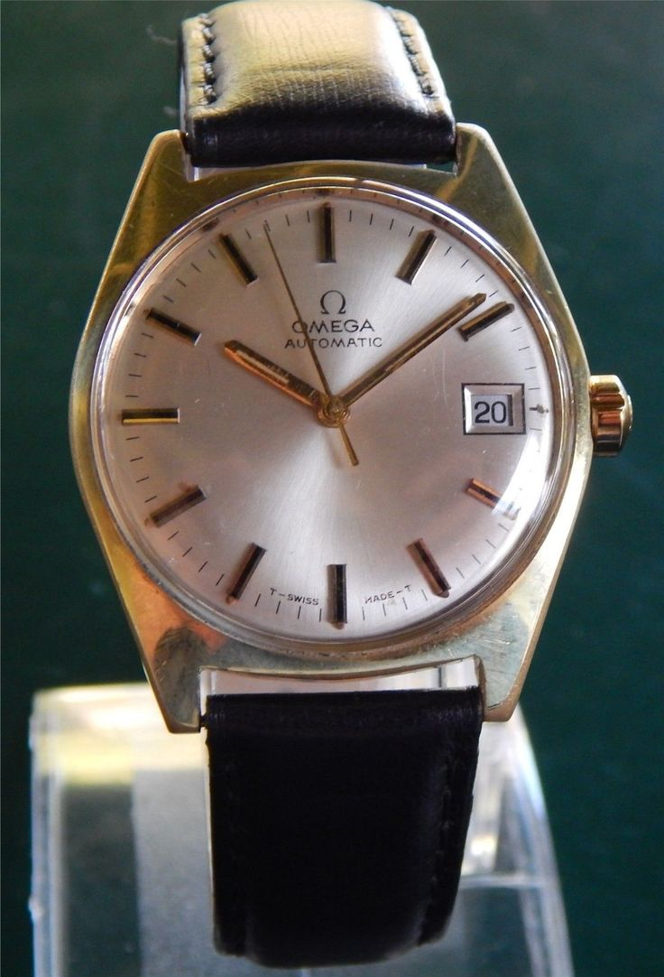 Vintage Omega Automatic Date Ω563 - Gold Plated Case