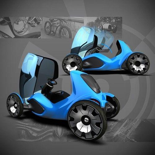 Future cars, Zero One, green vehicle