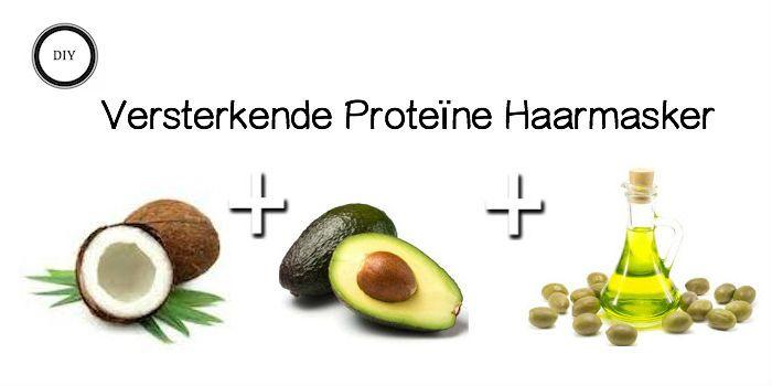 Is je haar de laatste tijd erg breekbaar en kan het wel een oppepper gebruiken? Maak dan je eigen proteïne haarmasker met kokosmelk, avocado en olijfolie.