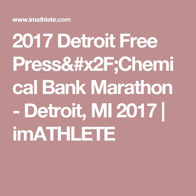 2017 Detroit Free Press/Chemical Bank Marathon - Detroit, MI 2017 | imATHLETE