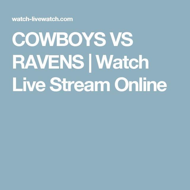 COWBOYS VS RAVENS | Watch Live Stream Online