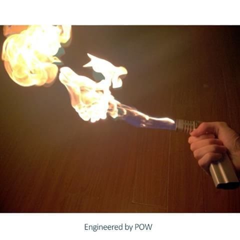 🔥Magazine Flame Thrower Pistol 🔥 Exclusive to Engineered by POW a portable flame thrower pistol with a range up to 3ft from the nozzle. This item dispenses a lot of fuel to create a large long flame. If you're expecting something that will ignite a flame all day as a store bought lighter per recharge then this isn't the product for you. Careless handling of this product will result in severe burns and property damage. #engineeredbypow #flamethrower #fire #magazine #magazines #gun #guns…
