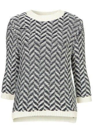 Topshop Boutique zig zag print jumper, £48