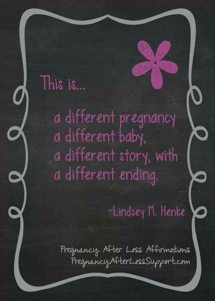 Pregnancy after loss affirmation