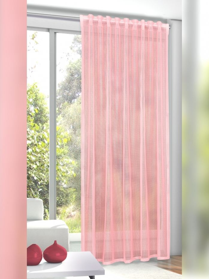Zauberhafte Gardine Einfarbig Altrosa Transparent Mit Verdeckten Schlaufen Und Gardinenband 12 00 Haus Deko Fensterdekoration Schlaufengardinen
