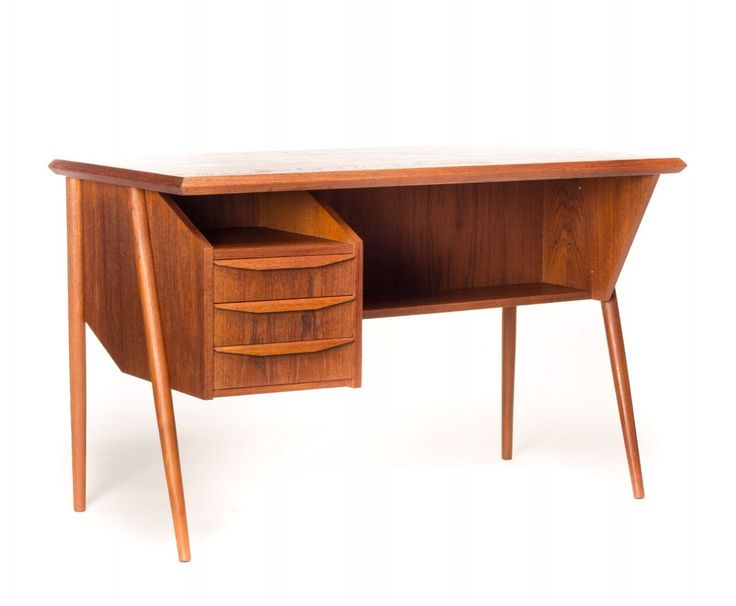 For sale through VNTG: Writing Desk from the fifties by Gunnar Nielsen Tibergaard for Tibergaard Denmark | #59161