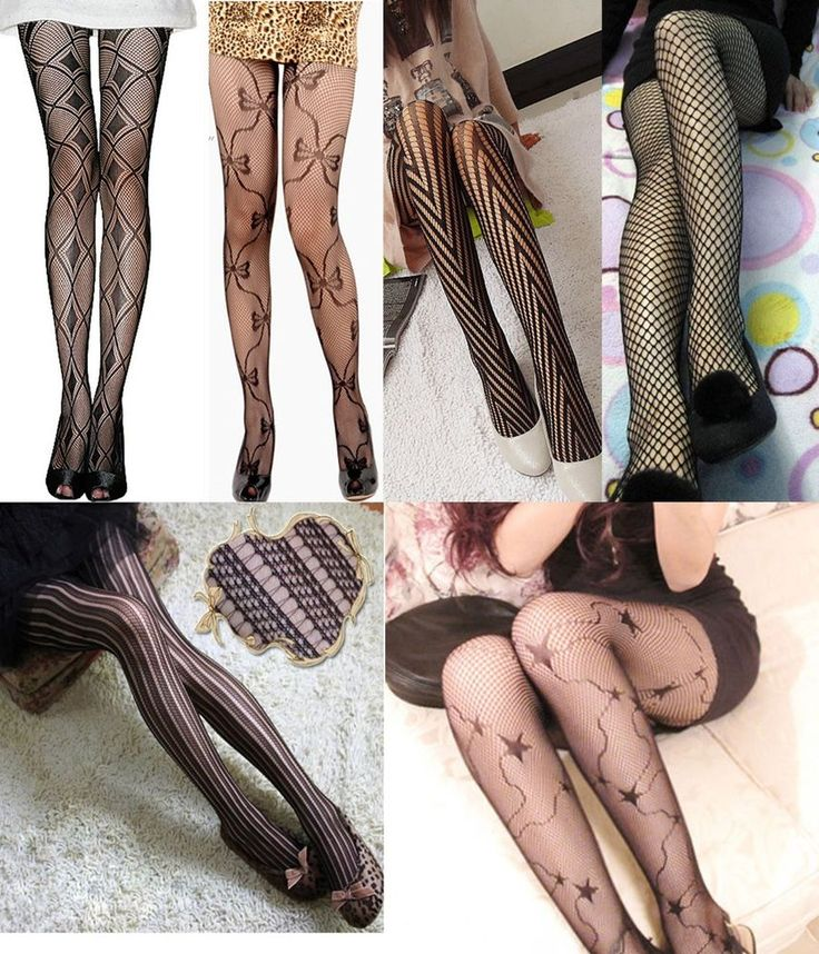 6 Pairs New Fashion Stockings Elegant Sexy Women Different Pattern Pantyhose #XingHong #Pantyhose