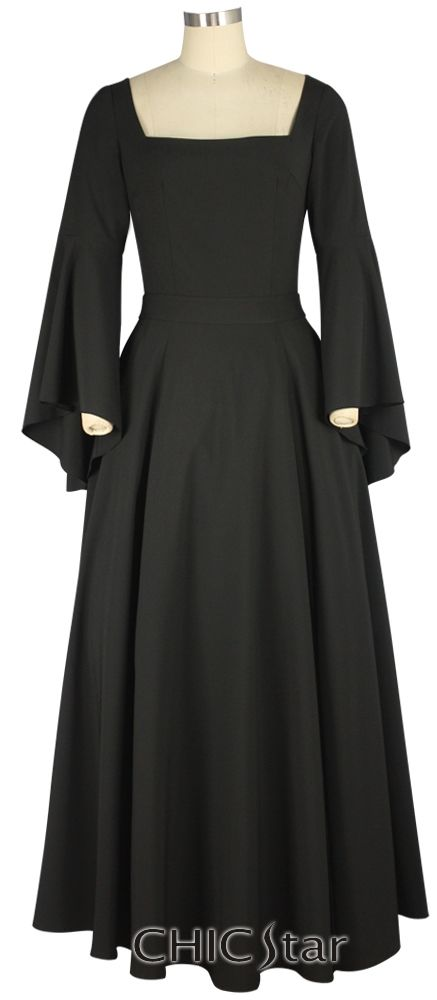ChicStar Medieval Gothic Dress Standard size $54  Plus size $60  or Wholesale (see sight for pricing) Design by Cecilia Estevez Estevez and Amber Middaugh