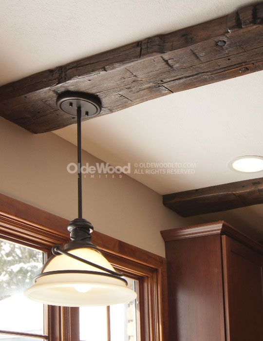 157 best tahoe remodel general resources images on for Decorative beams in kitchen