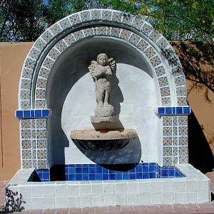 25 best images about fountains water features on for Spanish style fountains for sale