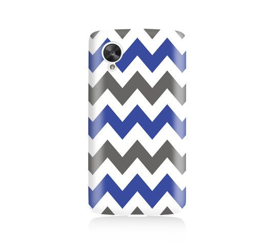Blue and Grey Chevrons is available for Nexus 5    Our cases precision-engineered to be the one of the lightest weight cases on the market. This
