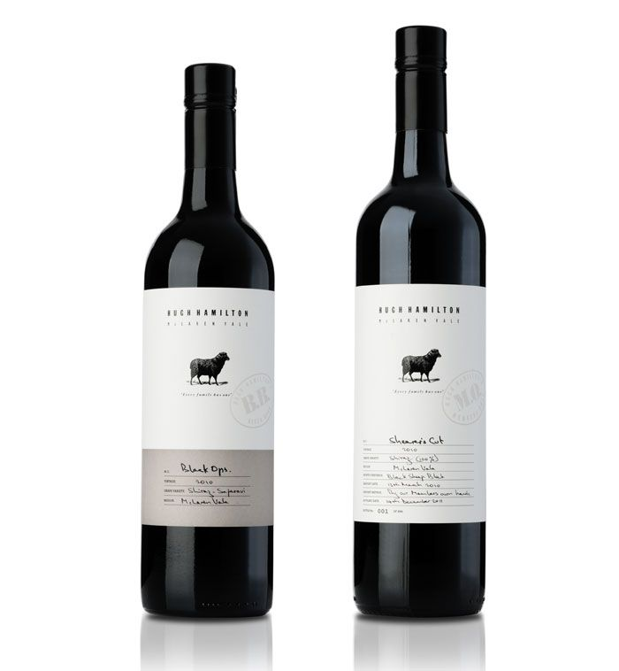 Hugh Hamilton Wines - The Dieline -