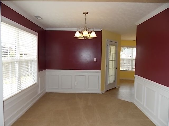 Wainscoting Dining Room