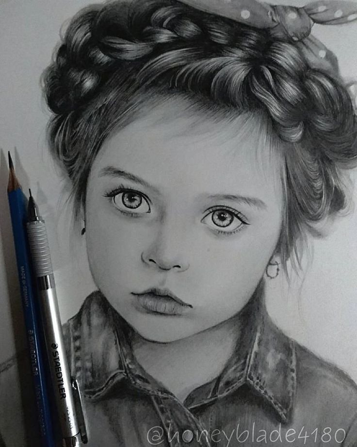 Wonderful pencil drawing works by Honey Blade