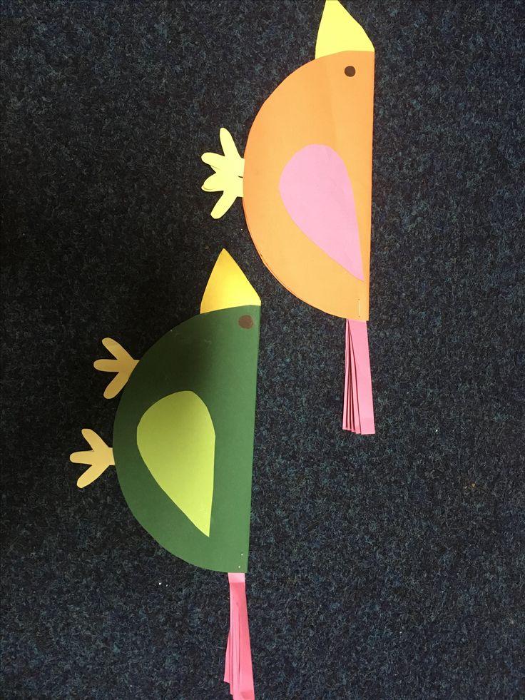 Papírový ptáci
