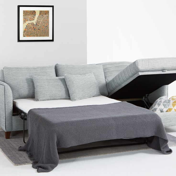 Double Corner Foam Sofa Bed