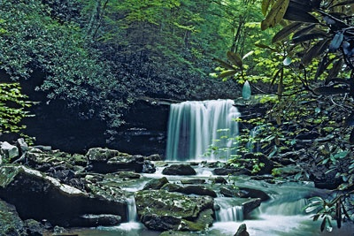Twin Falls Resort WV State Park - Spry Image Slideshow With Filmstrip