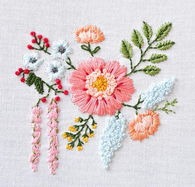 Pin Von Punct Um Design Photography Auf Diy In 2020 Sticken Blumen Sticken Stickereikunst