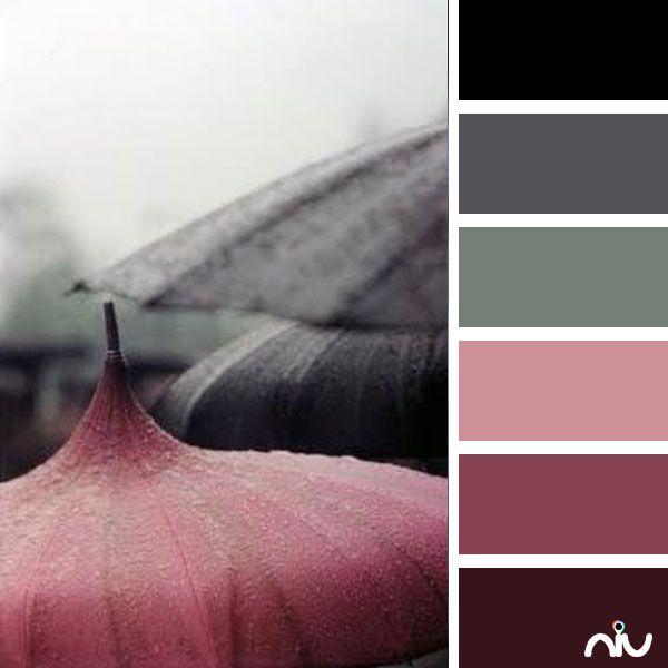 umbrellas (object)  Color Palette - Paint Inspiration- Paint Colors- Paint…