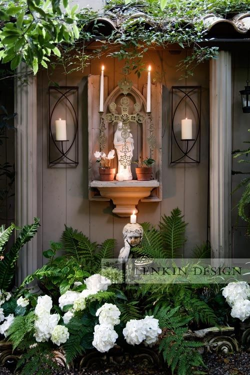 39 best Prayer Meditation Religious Gardens and Garden Grottos