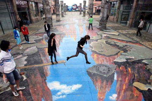 Incredible chalk art!