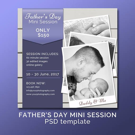 Father's Day Photography Mini Session /Daddy & Me