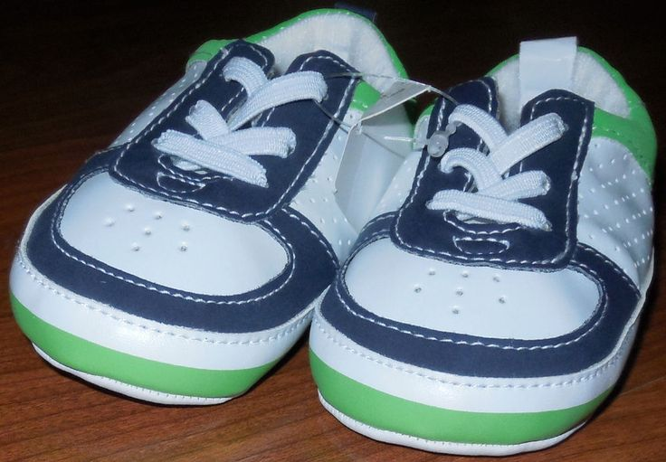 Nwt Baby Boy Shoes 3 6 Months Falls Creek Baby Crib Shoes