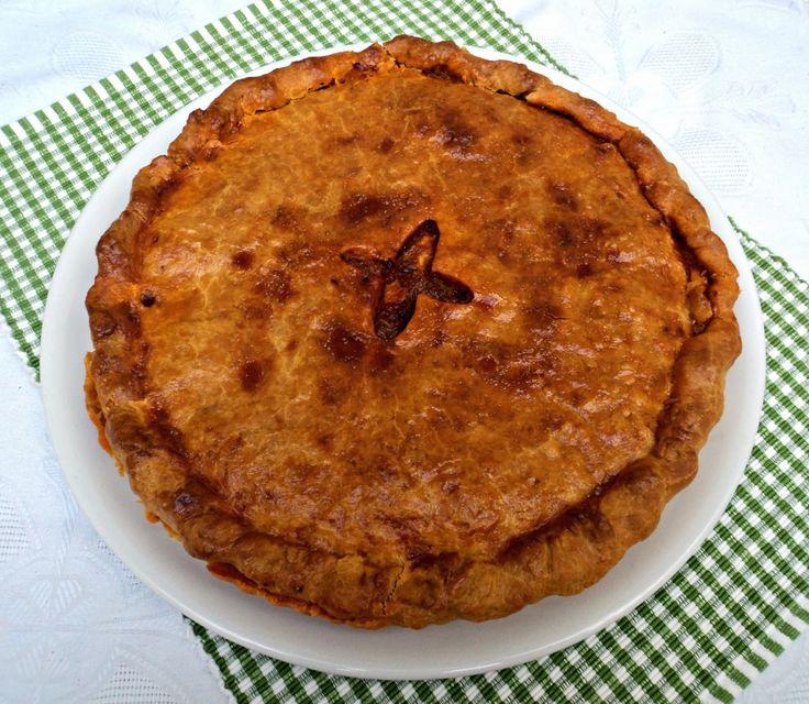 Empanada de pulpo Olor a hierbabuena