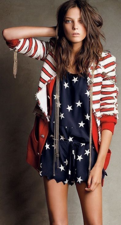 #popular #street #style #outfits #spring #2016 | Stars and Stripes
