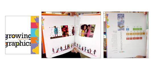 GROWING GRAPHICS / Design for kids    edito in Spagna da INDEX BOOK tratta della grafica internazionale dedicata ai bambini. Il nostro studio è presente con due progetti:   - Patty Shelabargher kids (catalogo e campagna abbigliamento bambina)  - Biblioteca Comunale Montevarchi - spazio giovani   (immagine e segnaletica sezioni Biblioteca con pittogrammi)