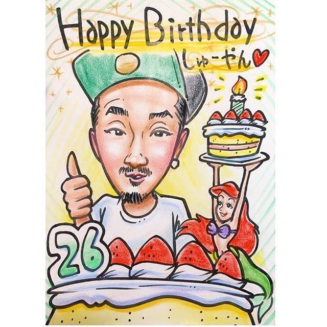 【nigaoe_hana】さんのInstagramをピンしています。 《. 🌟🌟 スタンダード似顔絵 🌟🌟 . . 友人の誕生日プレゼントに!🎂🎁 . 誕生日ケーキを入れてバースデー感たっぷりで描かせていただきました!🎂✨ . . この度はオーダー頂きまして、 誠にありがとうございました!!🙇✨ . . . どんなリクエストでもお描き出来ます!👌🎶 . . プレゼントにオススメです!😁🎁 . 〜似顔絵価格〜 ◎スタンダード似顔絵◎ . 【A4サイズ 1名様】  3,000円🌟 【アレンジオプション】500円🌟 . 【合計】  3,500円💡 . となっております!😊 . . . ご注文・お問い合わせなどは、 お気軽にメッセージ下さいませ😁✊ . メッセージ、コメント、LINEページから承ります🙌✨ 直接メッセージを送っていただいても大丈夫です。 . . 🔴店舗LINE ID ⬇️ @mbs4459p . 🔴店舗メール ⬇️ hana@nigaoehana.net . . ーーーーーーーーーーーーーーー . 🌟◎スタンダード似顔絵◎🌟…