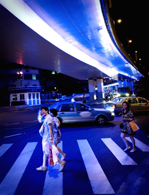 Blue Nights of Shanghai
