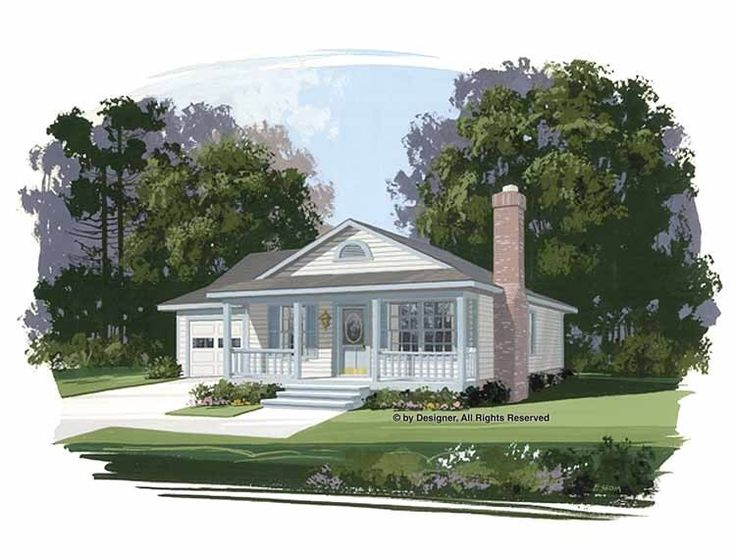 Country House Plan With 1050 Square Feet And 3 Bedrooms S From Dream Home Source House Plan