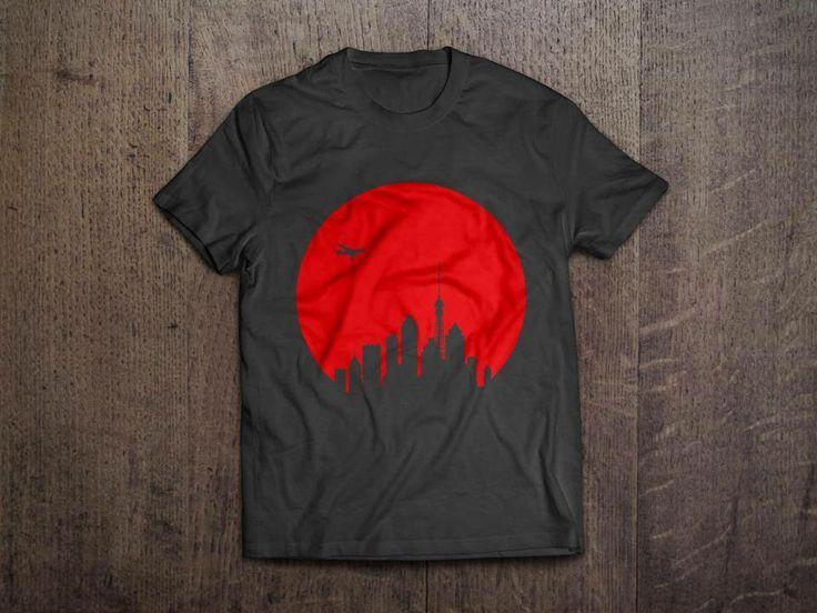 Rising Sun tee    Men & Women apparel