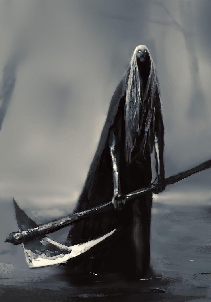 dark fantasy character