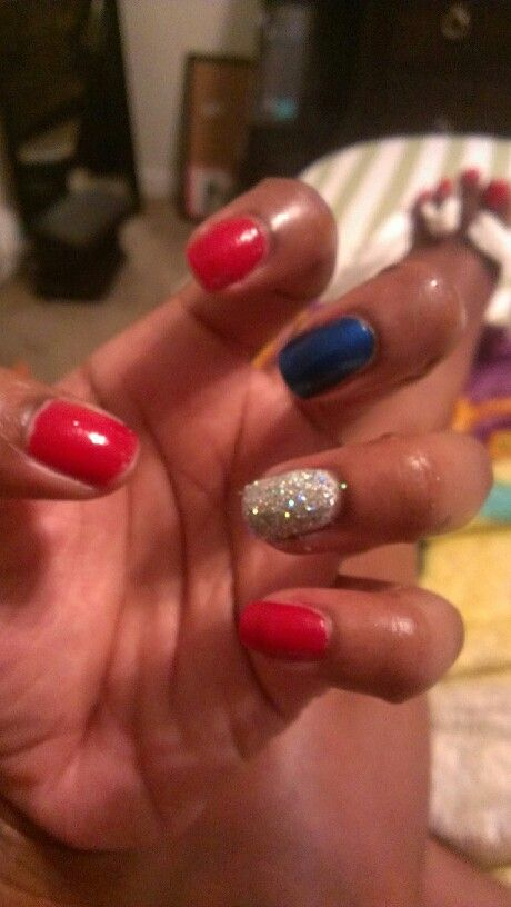Houston Texans/Texas Rangers nails