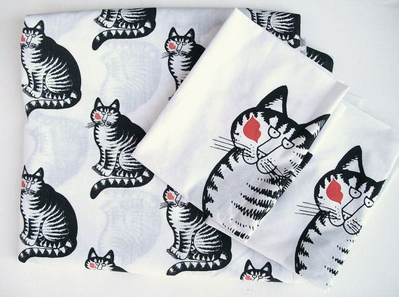 Kliban Cat Bedsheets My BFF Had Them I Was So Jealous