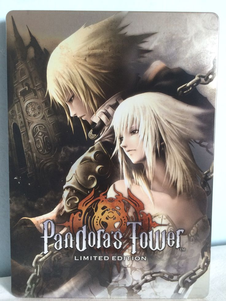 Pandora's Tower Limited Edition steelbook.