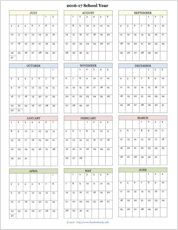 10 best Printable Planners  Calendars images on Pinterest Free - printable calendars